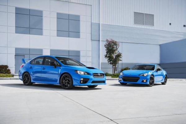 Subaru BRZ и  WRX STI Series.HyperBlue