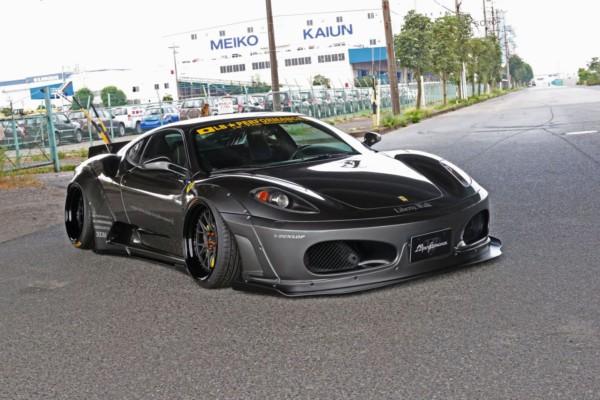 ferrari f430 tuning liberty walk 7 - Японцы преобразили Ferrari F430