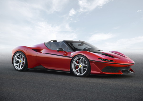 ferrari j50 1 - В Японии представили суперкар Ferrari J50 Limited Edition