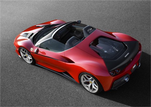 ferrari j50 3 - В Японии представили суперкар Ferrari J50 Limited Edition