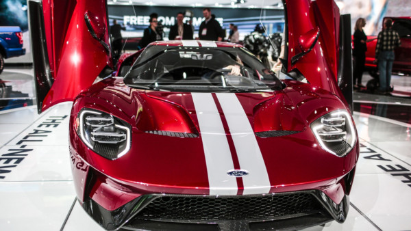 2017 ford gt - 2017 Ford GT предложит 647 л.с.