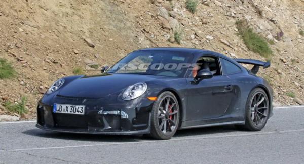 open 1 - 2018 Porsche 911 GT3  покажут в Женеве