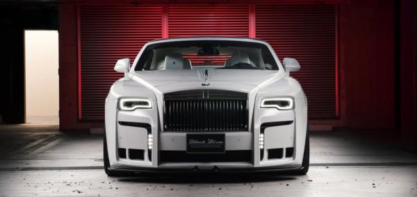 Wald Black Bison Rolls Royce Dawn 1 - Японцы преобразили  Rolls-Royce Dawn
