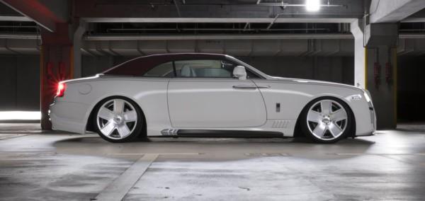 Wald Black Bison Rolls Royce Dawn 4 - Японцы преобразили  Rolls-Royce Dawn