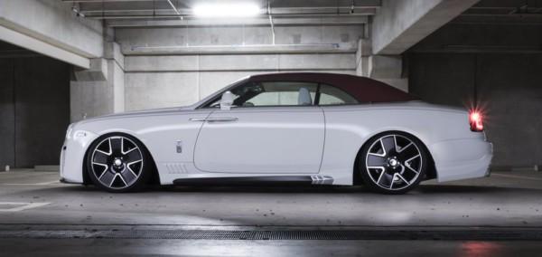 Wald Black Bison Rolls Royce Dawn 7 - Японцы преобразили  Rolls-Royce Dawn